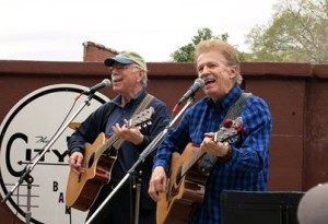 "Al Craven and Bob Kenison - also known as ""Those Weasals"" will perform at Irish Night."